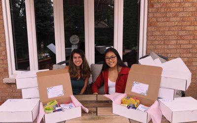 Dufferin-Peel Students Create Boxes of Bravery
