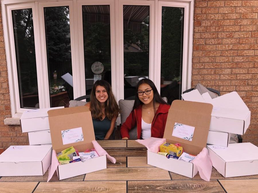 Dufferin-Peel Students Create Boxes of Bravery